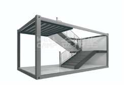news-Use Different Functions of Flat Pack Container House Combined into An Office Building-WELLCAMP,